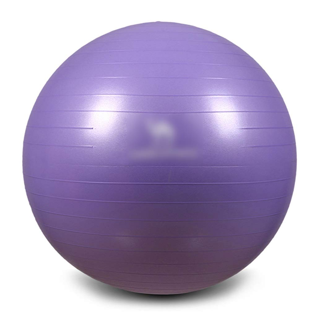 Sports Fitness Yoga Ball Bodybuilding Slimming Balance Ball Elastic Explosion-Proof Ball Gym Slimming Ball Outdoor Play Sports Ball Portable (Load: 500kg) Exercise Ball Chairs