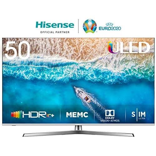 chollos oferta descuentos barato Hisense H50U7BE Smart TV ULED 50 4K Ultra HD con Alexa Integrada Bluetooth Dolby Vision HDR HDR 10 Audio Dolby Atmos Ultra Dimming Smart TV VIDAA U 3 0 IA mando con micrófono
