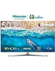Hisense H50U7B 126 cm (50 Zoll) Fernseher (4K Ultra HD, HDR, Dolby Vision, Triple Tuner, Smart-TV, USB-Aufnahmefunktion)