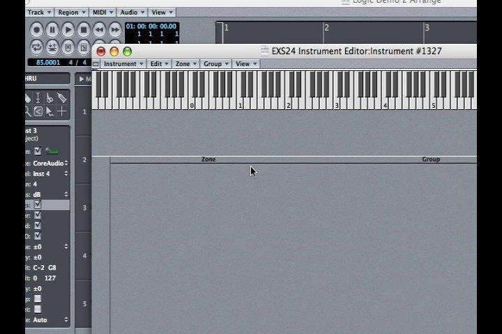 Multi Samples & the EXS24: Apple Logic Pro