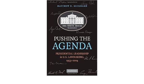 Pushing the Agenda Hardback: Amazon.es: Beckmann: Libros en ...