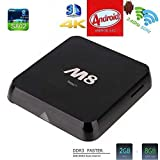 Susay(TM) M8 Quad Core Android 4.4 Smart Set Top TV Box