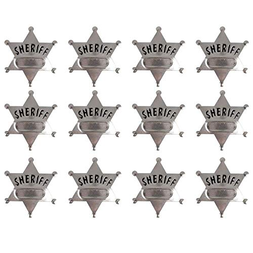 Kicko Metal Deputy Sheriff Badge - Pack