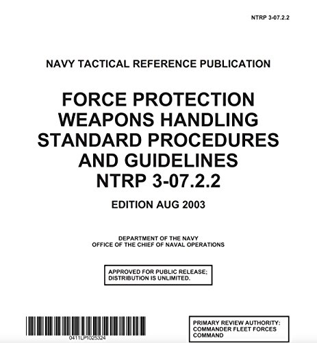 Used, FORCE PROTECTION WEAPONS HANDLING STANDARD PROCEDURES for sale  Delivered anywhere in USA