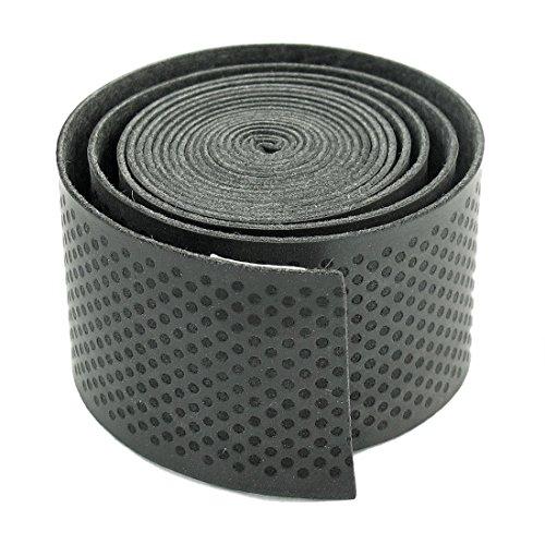 Primi Raquette de tennis absorption de la transpiration Poignée grip Wrap ruban adhésif (Noir)