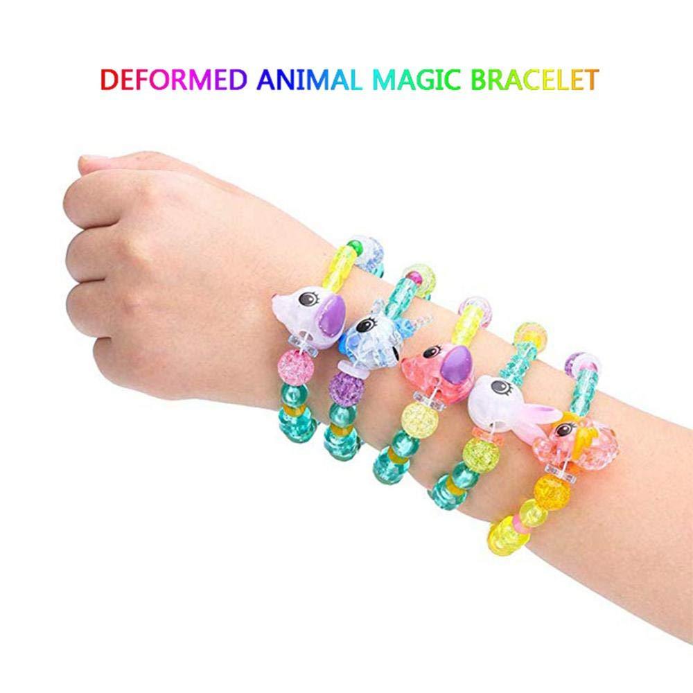 Womdee magique Pets Bracelets, coloré, Jewel,like Perles Bracelets pour les  filles SE transforme comme par Magie à partir de bracelet pour animal  domestique