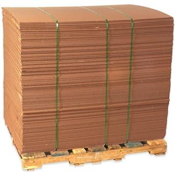 Amazon Com Aviditi Sp4872 Corrugated Sheet 72 Quot Length X