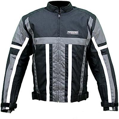 kt008 chaqueta textil Moto Quad Negro/Gris Karno Weapon ...