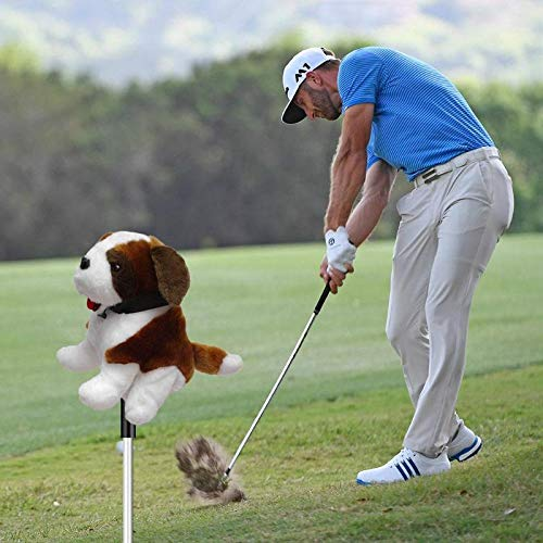 Sala-Sportswear - Animal Golf Club Head Protective Cover Cartoon Headcover for 460CC No.1/3/5 Driver Wood Club-Making Products Golf Accessories