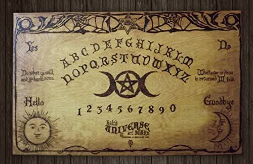 handmade ouija board large 24 quot x 15 quot witch board handmade ouija 3157