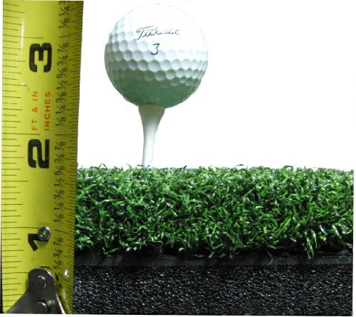 10'' x 24'' Golf Chipping Driving Range Practice Hitting Mat Holds A Wooden Tee by PREMIUM PRO TURF (Image #3)