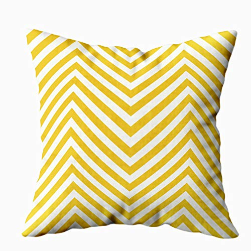 Musesh Halloween Pillow Covers, Abstract Geometric Pattern Creative Stylish Texture Minimal Backdrop Web Design Textile Wallpaper for Sofa Home Decorative Pillowcase 18X18Inch Pillow Covers]()