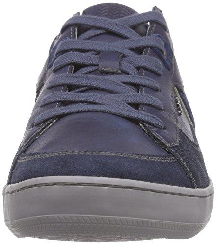 Geox U Box C - Zapatillas para hombre Azul - Blau (NAVY/DK ROYALCF44R)
