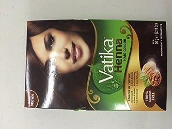 Dabur Vatika Henna Colour 60g Dark Brown Amazon Co Uk Beauty