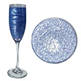 Blue Beer & Beverage Glitter   50 Gram Jar   Edible Food Grade Beer Glitter, Cocktail Glitter & Beverage Glitter-Dust from Bakell