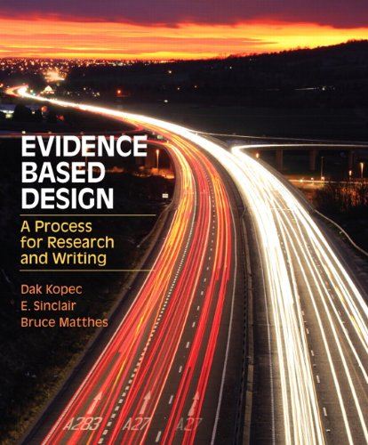 Evidence Based Design: A Process for Research and Writing (Fashion Series) by Pearson