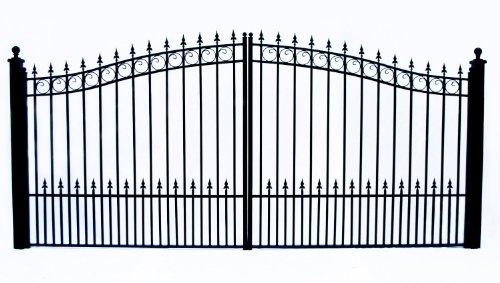 Prague Style Iron Wrought Gate  6'1/4