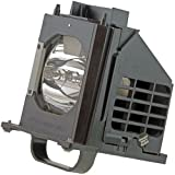 WOWSAI TV Replacement Lamp in Housing for Mitsubishi WD-65735, WD-65736, WD-65737, WD-65835, WD-65837 Televisions