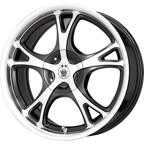Konig Black Wheel with Machined Face (16×7″/5x100mm)