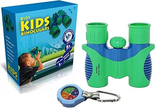 Binoculars for Kids 8x21 by SoSimplyGolden - Shock...