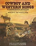 Cowboy and Western Songs, Austin E. Fife, 0517387689