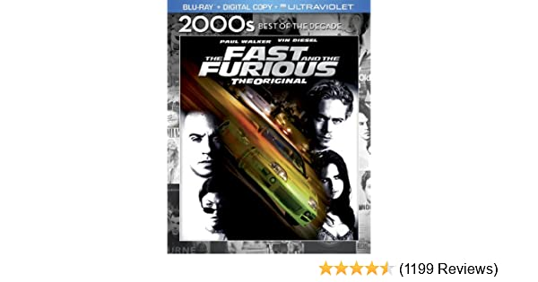 Amazon.com: The Fast and the Furious [Blu-ray]: Vin Diesel, Paul Walker, Michelle Rodriguez, Jordana Brewster, Rick Yune, Ja Rule, Chad Lindberg, ...