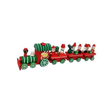 Decoración de madera para tren de Navidad, para regalo ...