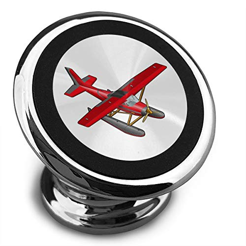 Baerg Universal Magnetic Phone Car Mounts Magnet Holder Aircraft Red Airplane Magnetic Mount for Phone 360° Rotation ()