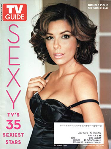TV Guide Magazine March 30-April 12 2009 Eva Longoria Desperate Housewives 35 Sexiest Stars Double Issue