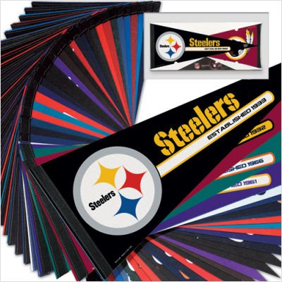 NFL Pennant Set - Mixed Teams by