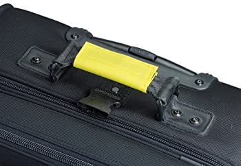 Lewis N. Clark 3-pack Luggage Id Handle Wrap, Yellow, One Size 1