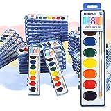 Keebor Basic 8-Colors Washable Watercolor Paint