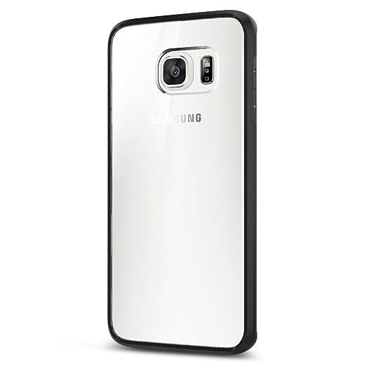26 opinioni per Cover Galaxy S6 Edge Plus, Spigen [Assorbimento-Urto] Ultra Hybrid [Black]