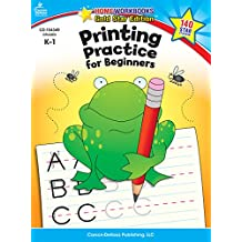 Printing Practice for Beginners, Grades K - 1: Gold Star Edition