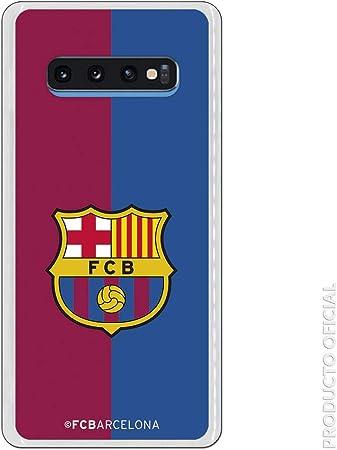 LA CASA DE LAS CARCASAS Carcasa Oficial Escudo FC Barcelona blaugrana para Samsung Galaxy S10 Plus: Amazon.es: Electrónica