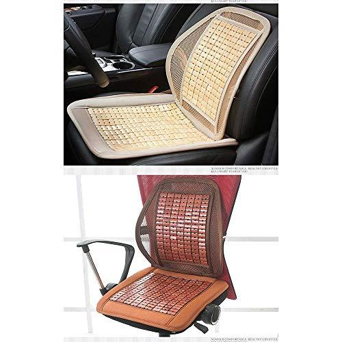 Lqqzq Cushion Summer Car Seat, Breathable Mahjong Mat Car Seat Office Seat Cushion Cushion (Color : Brown) by Lqqzq (Image #2)