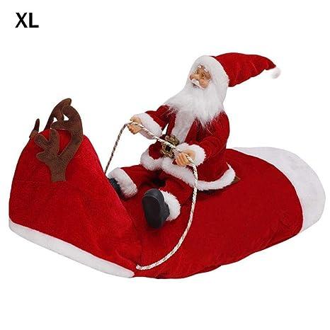 Ablerfly Ropa de Navidad para Perros con Papá Noel ...