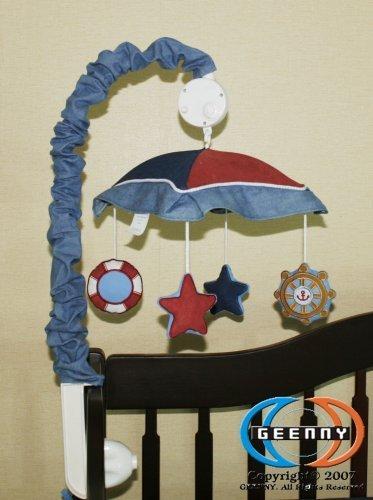 沸騰ブラドン GEENNY BEDDING Musical Mobile Mobile For Sailor CRIB BEDDING SET by GEENNY GEENNY [並行輸入品] B019X21WG6, ウエス屋ねん:da326fef --- kumarandsons.com