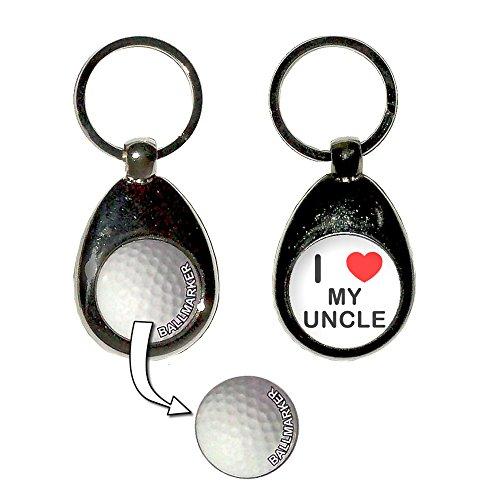 e - Golf Ball Marker Key Ring ()