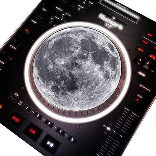 Full Moon DJ Turntable 7 Inch Slipmat Love Dove FullMoon7