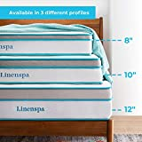 Linenspa 8 Inch Memory Foam and Innerspring Hybrid