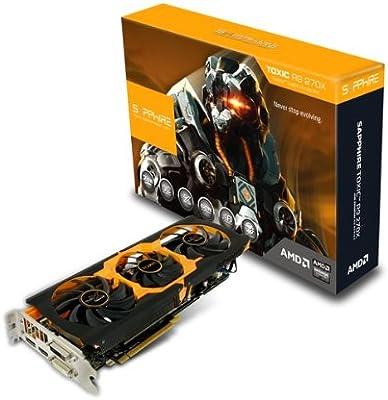 Amazon com: Sapphire Radeon Toxic R9 270X 2GB GDDR5 DVI-I