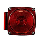 Automotive : Blazer B83 7-Function Red Square Combination Stop/Tail/Turn Light - Pack of 1
