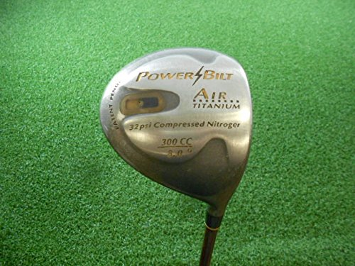Powerbilt Air Titanium 32Psi Compressed Nitroger Right-Handed Driver Graphite Firm 8° (Powerbilt Air)