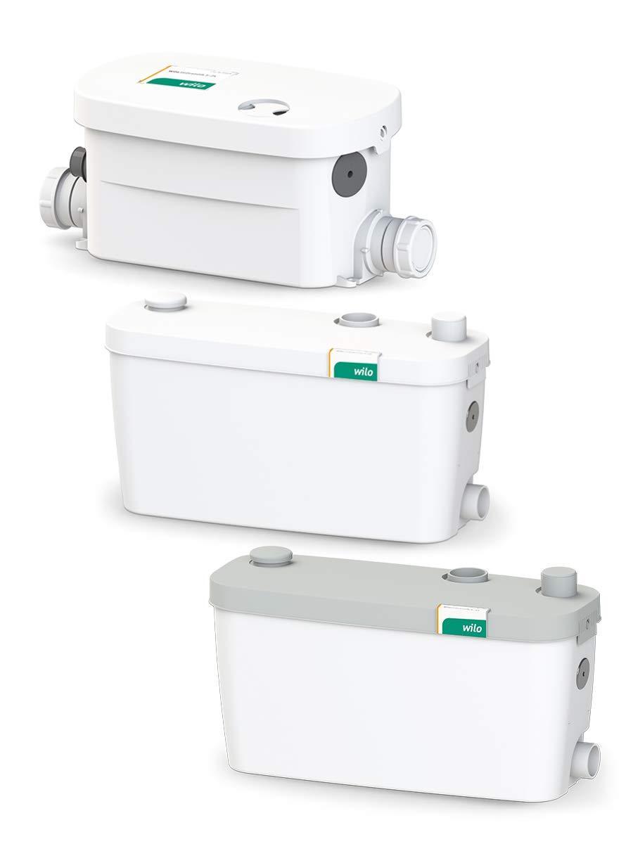 Wilo-HiDrainlift 3-37 kompakte Abwasserhebeanlage für Schmutzwasser ohne Fäkalien zur Entwässerung von Duschen, Waschmaschinen, Spülmaschine und Waschbecken - Schmutzwasserhebeanlage Test