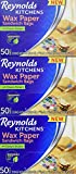 reynolds hot bags - Reynolds Kitchens Sandwich and Snack Wax Paper Bags (50 Count, Pack of 3)