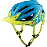 Troy Lee Designs A2 MIPS Helmet Decoy Cyan/Yellow, XL/XXL For Sale