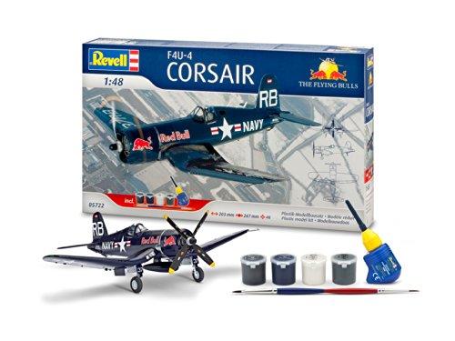 Revell 05722 - Modellbausatz - Geschenkset F4U-4 Corsair, Flyin, Maßstab 1:48