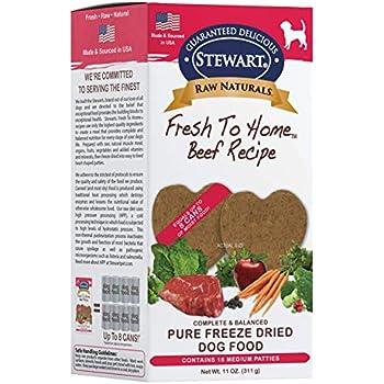 Stewart Raw Naturals Freeze Dried Patties Grain Free Made