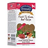 Stewart Raw Naturals Freeze Dried Patties Grain